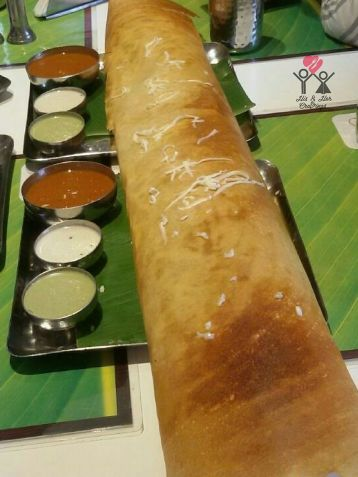 Cheese Paper Dosa